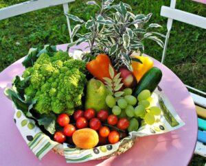 unprocessed foods